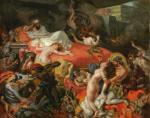 Eugène Delacroix Death of Sardanapalus replica 1846 Philadelphia Museum of Art