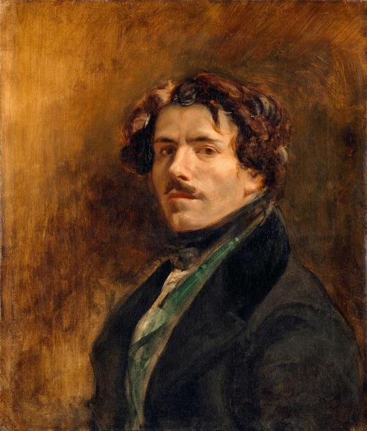 Eugène Delacroix Self Portrait ca 1837 Louvre Paris