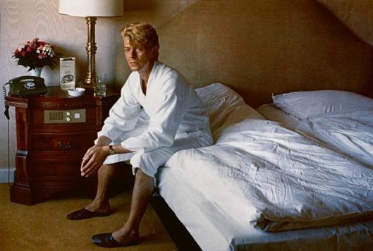Helmut Newton David Bowie Bedroom Kempinski Hotel Berlin 1983