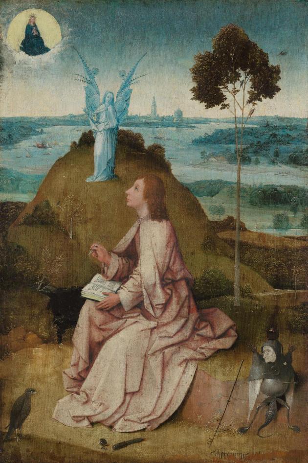 Hieronymus Bosch St John on Patmos ca 1490 95 Staatlichen Museen zu Berlin