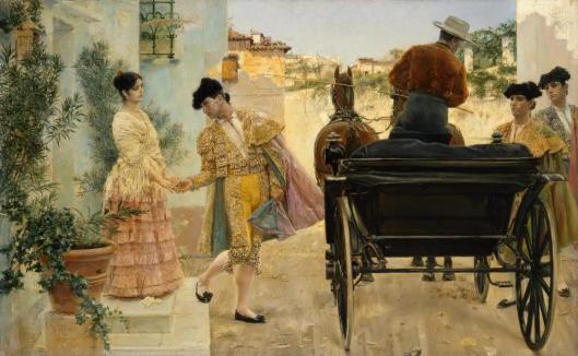 José Villegas Cordero Torero's Farewell 1880 State Hermitage Museum St Petersburg