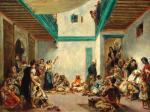 Pierre August Renoir Jewish Wedding in Morocco after Delacroix 1875 Worcester Art Museum