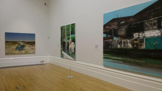Reality Modern and Contemporary British Painting exhibition view Walker Art Gallery Liverpool artdone