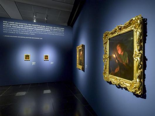 Schalcken – Painted Seduction exhibition view Wallraf-Richartz-Museum Cologne