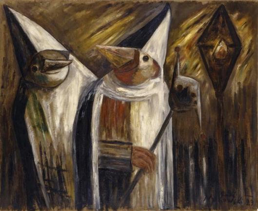Tadeusz Makowski The Masks Maski 1929 priv coll