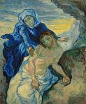 Vincent van Gogh Pieta 1889 Van Gogh Museum Amsterdam VGM