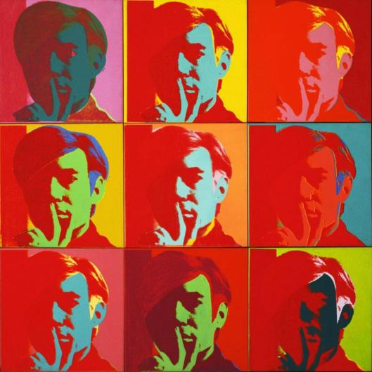 Andy Warhol Self-Portrait 1966 MoMA New York