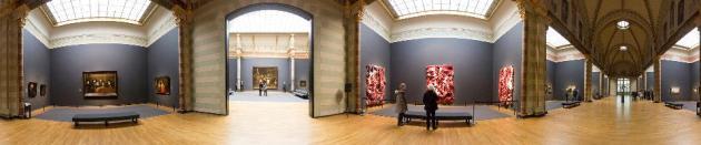 Anish Kapoor Rembrandt exhibition view Rijksmuseum Amsterdam