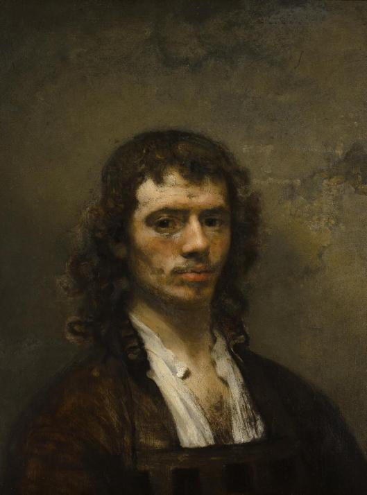 Carel Fabritius Self-Portrait ca 1647 48 Museum Boijmans Van Beuningen Rotterdam