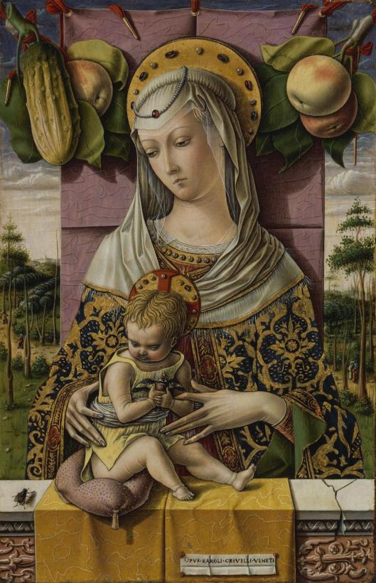 Carlo Crivelli The Virgin and Child ca 1480 Metropolitan Museum of Art New York
