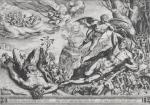 Cornelis Cort after Frans Floris the Elder Hercules and the Pygmies 1563 engraving