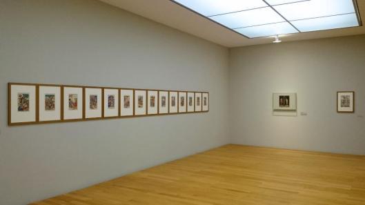 Cranach von der Idee zum Werk Cranach from Initial Idea to Final Work exhibition view Museum der Bildenden Künste Lipsk Leipzig artdone