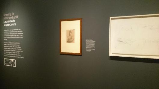 Drawing in Silver and Gold Leonardo to Jasper Johns exhibition view British Museum London artdone