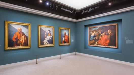 From Giotto to Caravaggio The passions of Roberto Longhi exhibition view Musée Jacquemart-André Paris