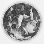 Hendrick Goltzius after Cornelis van Haarlem Ixion from the The Four Disgracers plate 3 1588 engraving