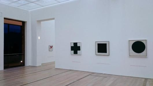 In Search of 0,10 The Last Futurist Exhibition of Painting exhibition view Fondation Beyeler Basel artdone Kazimir Malevich