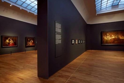 Late Rembrandt exhibition view Amsterdam