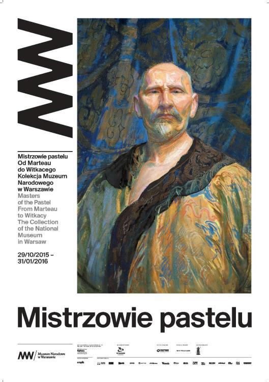 Mistrzowie pastelu Od Marteau do Witkacego MNW poster