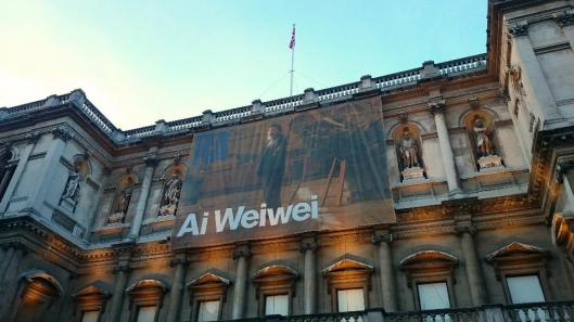 Royal Academy Ai WeiWei exhibition London artdone
