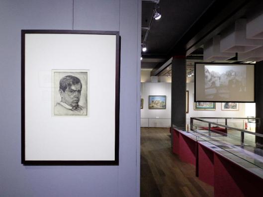 Władysław Skoczylas (1883-1934) exhibition view widok wystawy Muzeum Nadwiślańskie Kazimierz Dolny