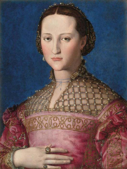 Agnolo Bronzino Portrait of Eleonora di Toledo 1560 Národní Galerie National Gallery Prague