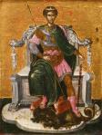 El Greco Saint Demetrius 1565 66 priv coll
