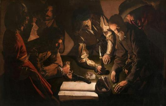 Georges de La Tour The Payment of Dues 1620s Lviv National Art Gallery Lwow