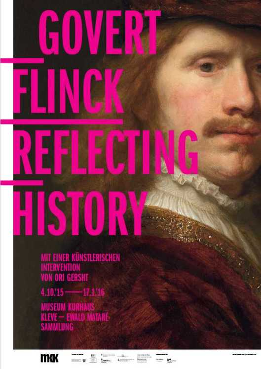 Govert Flinck exhibition Kleve poster
