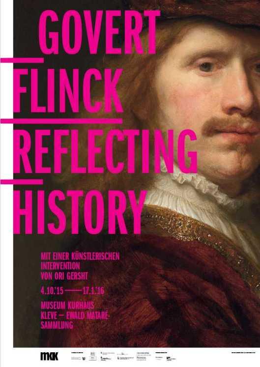 Govert Flinck exhibition Kleve poster