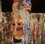 Gustav Klimt The Three Ages of Woman 1905 Galleria Nazionale d'Arte Moderna Rome