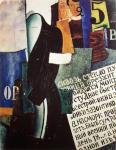 Ivan Puni Barbershop 1915 Pompidou Paris