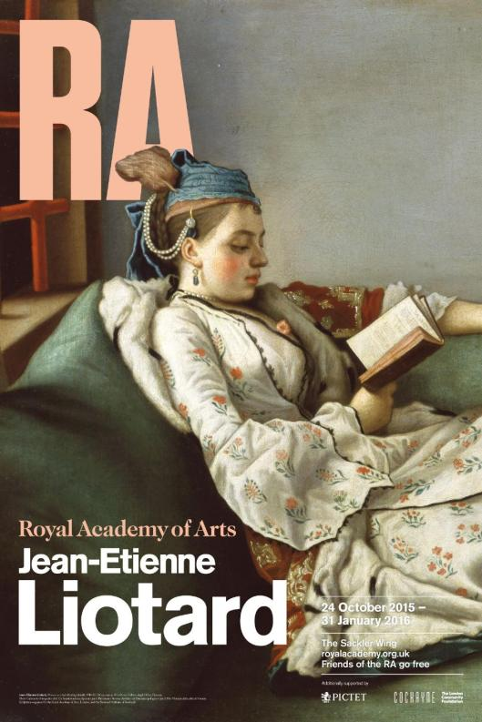 Jean-Etienne Liotard exhibition The Royal Academy of Arts London poster
