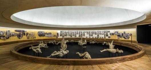 Pompeii and Europe 1748–1943 exhibition view Anfiteatro Amphitheater Pompeii