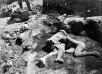 Soprintendenza Photographer Casts of Victims in the House of The Cryptoporticus Pompeii 1915