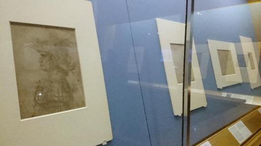 Drawing in Silver and Gold. Leonardo to Jasper Johns exhibition view British Museum London artdone