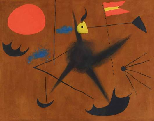 Joan Miró Spanish Flag 1925 priv coll Switzerland
