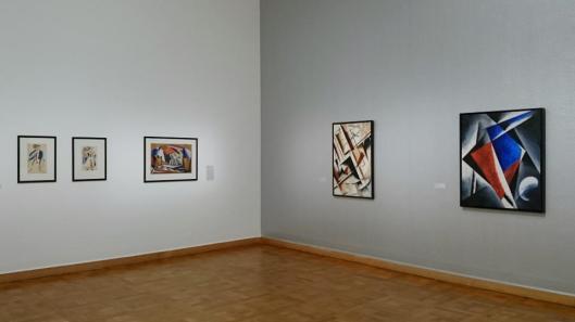 Liebe in Zeiten der Revolution. Künstlerpaare der russischen Avantgarde exhibition view Bank Austria Kunstforum Vienna artdone
