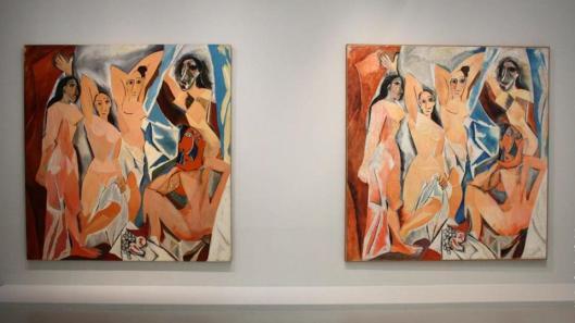 Picasso.mania exhibition view Grand Palais Paris