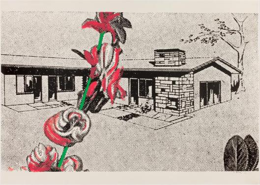 Sigmar Polke Weekend home 1967 68 silkscreen