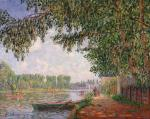 Francis Picabia Effect of Sunlight on the Banks of the Loing Moret 1905 Philadelphia Museum of Art