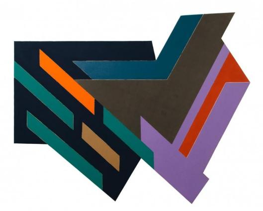 Frank Stella Bogoria IV 1971 Ralph DeLuca Collection