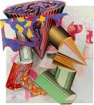 Frank Stella Gobba, zoppa e collotorto 1985 Art Institute of Chicago