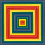 Frank Stella Gran Cairo 1962 Whitney Museum of American Art New York