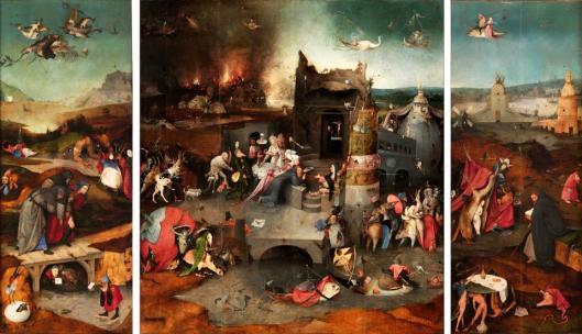Hieronymus Bosch Temptation of Saint Anthony 1505 06 Museu Nacional de Arte Antiga Lisboa