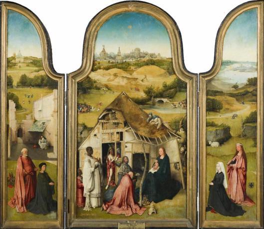 Hieronymus Bosch The Adoration of the Magi ca 1494 Prado Madrid