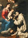 Jusepe de Ribera Madonna with Saint Bruno 1624 Staatliche Museen zu Berlin