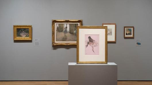 Edgar Degas A Strange New Beauty exhibition view MoMa New York