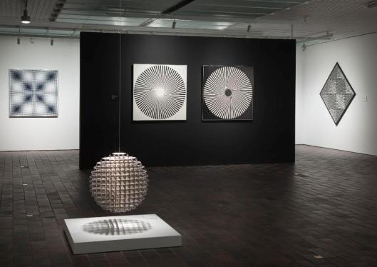 Eye Attack Op Art and Kinetic Art 1950-1970 exhibition view Louisiana Museum of Modern Art Humlebæk