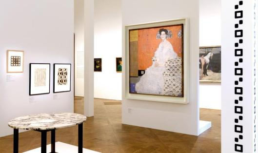 Klimt Kupka Picasso and others Form Art exhibition view Belvedere Vienna