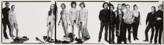 Richard Avedon Andy Warhol and members of The Factory 1969